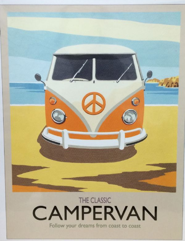 Orange Campervan